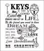 Script Key Background