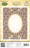 Lace Oval Background Stamp