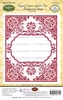 Elegant Corners Labels Four Background Stamp
