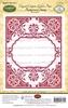 Elegant Corners Labels Four Background Stamp