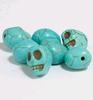 Skull Beads turquoise   per setje