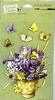 3-D stickers: Butterfly Bouquet   per vel