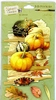 3-D stickers: Fall Harvest   per vel