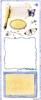 Big Sticker: Blue Journaling   per vel