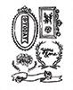 the Optimist  Cling Stamp set   per vel