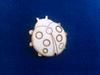 Lieveheersbeestjes 4 cm zakje met 3 stuks. 3mm dik