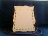 Tas groot knutselset 15.5 x 18 x 10 cm. 3 mm dik houtboard