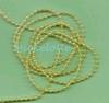 Citroengeel Pearl galon 3 mm   per meter