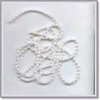 White Pearl galon 4 mm