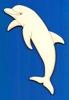 Dolfijn 12,5 x 5,5 cm 3 mm dik (van rechts)