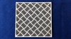 Achtergrond Traanplaat 10 x 10 cm 1,5mm dik chipboard