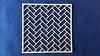 Achtergrond vierkant met zigzag baksteen
