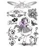 Cling Stamps Princess   per vel