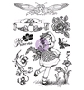 Cling Stamps Princess