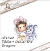 Tilda with Dexter the Dragon   per stuk