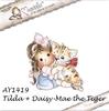 Tilda with Daisy-Mae the Tiger   per stuk
