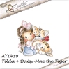 Tilda with Daisy-Mae the Tiger