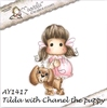 Tilda with Chanel the Puppy   per stuk