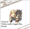 Tilda with Angel the Horse   per stuk
