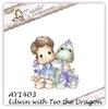 Edwin with Teo the Dragon