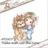 Tilda with Leo the Lion