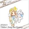 Tilda with Inez the Bunny