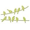 Birds on a Wire   per stuk