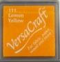 Lemon Yellow stempelkussen   per stuk