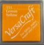 Lemon Yellow stempelkussen