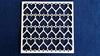 Achtergrond vierkant met harten  10 x 10 cm 1,5mm dik chipbo
