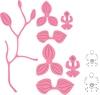Orchid stempels + stansen set