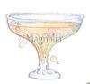 Pink Lemonade Glass