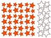 Stars Embossingfolder + die   per stuk