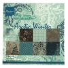 Paper pad Artic Winter   per pak