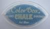 Ice Blue Cat's Eye Chalk   per stuk