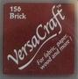 Brick stempelkussen   per stuk