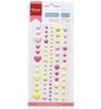 Enamel Dots Baby Pink   per set