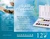 La Petite Aquarelle Reis set 12 halve napjes   per set