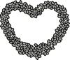 Topiary Heart    per stuk