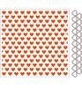 Embossing folders+die Hearts   per set