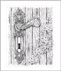 Floral Doorway & Latch