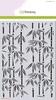 Mask stencil Happiness-Bamboe   per stuk