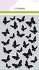Mask stencil Butterflies A5   per stuk