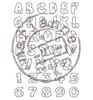 Patchwork alfabet