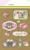 Kraft paper design Botanical 4 vel A4   per pak