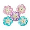 Double-flowers Pastel   per set