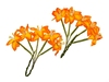Stemmed Lily Yellow and Orange   per set