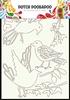 A4 Art Vogels   per stuk