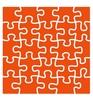 Embossing folder Puzzel   per stuk