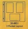3 Pocket Layout